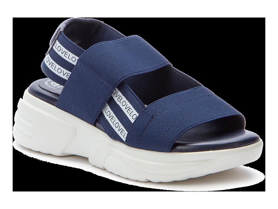 BETSY  917341/05-01 т.синий/белый детские (для девочек) туфли открытые (поступление 07.05.2021г.) цена 2490руб.