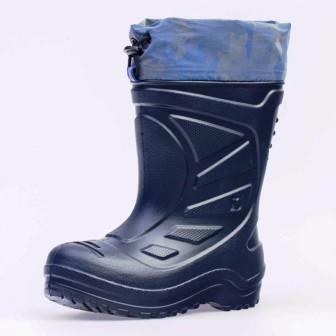 КОТОФЕЙ 565119-13 синий сапожки дошкольно-школьные ЭВА, (поступление 26.03.2021г.) цена 1150руб.