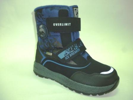 KAPIKA Ботинки текстиль (черный-синий) р.33-37  43297-1 (черный-синий) (поступление 28.10.2019г.)  цена  3100руб.