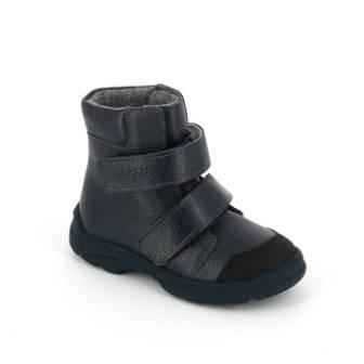 ТОТТА Ботинки дошкольные М338-байка подкладка;  338-бп-712 (синий)  (поступление 23.07.2020г.) цена 2300руб.