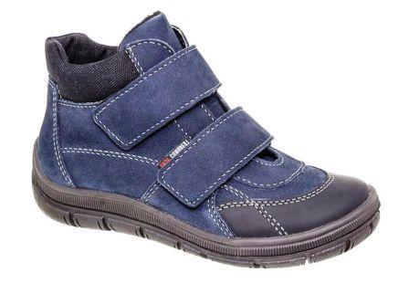 Лель м 7-054 МУ Ботинки мальчиковые байка (нубук, т.синий)  (поступление 24.08.2020г.) цена 3800руб.