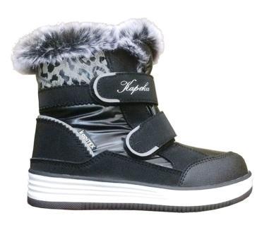 KAPIKA Ботинки (черный) 31-35  43413-1 (поступление 25.09.2020г.) цена 3200руб.