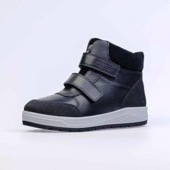 КОТОФЕЙ 752187-51 черный ботинки школьно-подростковые Нат. кожа, 36-40 (поступление 06.10.2020г.) цена 4400руб.