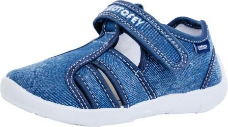 КОТОФЕЙ  421026-17 синий туфли летние дошкольные текстиль (поступление 07.05.2021г.) цена 990руб.