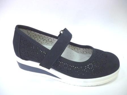 KEDDO 998321/10-02 т.синий детские (для девочек) туфли  (поступление 06.08.2019г.) цена  1800руб.