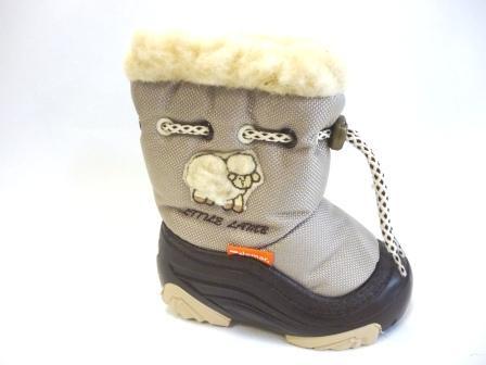 Дemar 4015N demar little lamb 2 a, цвет бежевый, натуральная овчина,  разм.20-21  (поступление 27.09.2019г.)  цена  1850руб.