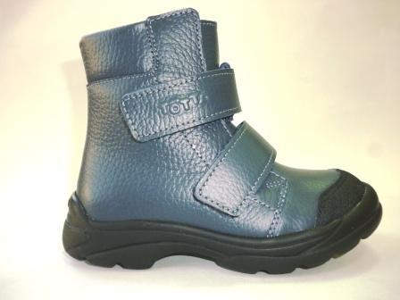 ТОТТО Ботинки дошкольные М338-байка подкладка; 712 (синий)   (поступление 25.02.2020г.)  цена  2250руб.
