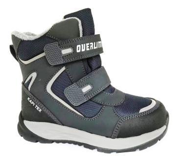 KAPIKA Ботинки (синий) 31-35  43414-2  (поступление 25.09.2020г.) цена 3200руб.