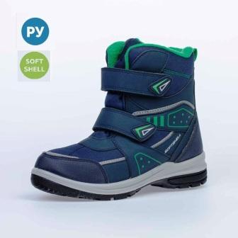 КОТОФЕЙ 754942-42 синий ботинки школьно-подростковые комбинирован., 36-40 (поступление 06.10.2020г.) цена 3250руб.