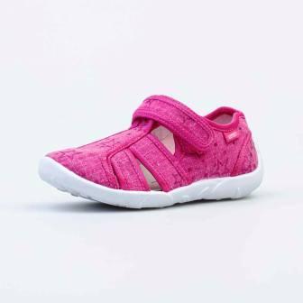 КОТОФЕЙ 421066-11 фуксия туфли летние дошкольные текстиль (поступление 07.05.2021г.) цена 990руб.