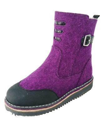 Фома 43659 Унтоваленки школа цв.войлок фиолетовый шерсть тэп (32-37) (поступление 14.09.2021г.) цена 4200руб.