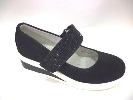 KEDDO  998321/12-02 черный детские (для девочек) туфли  (поступление 06.08.2019г.) цена  1800руб.