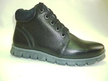 Лель м 6-1001 Ботинки школьные байка (черный) (поступление 29.02.2020г.)  цена  3300руб.