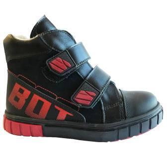 Bottilini Ботинки цвет черный (байка) (р.27-31)  BL-290(5) (поступление 02.10.2020г.) цена 3500руб.