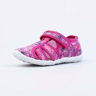 КОТОФЕЙ 421073-12 розовый туфли летние дошкольные текстиль (поступление 07.05.2021г.) цена 990руб.