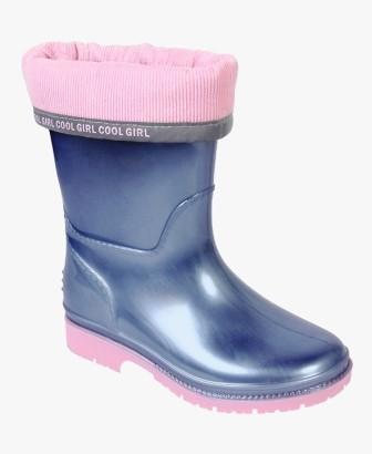 KAPIKA Сапоги резиновые (синий-розовый) р.31-35 артикул  1260т (поступление 06.09.2021г.) цена 1250руб.