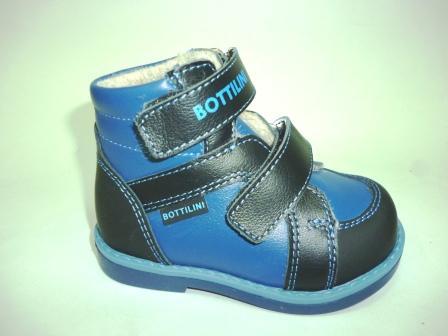 Bottilini ВО-183(3) Ботинки цвет т.синий (байка) (р.20-23)   (поступление 21.02.2020г.)  цена 2400руб.