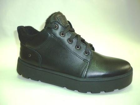 Лель м 6-1638 Ботинки школьные байка (черный)  (поступление 29.02.2020г.)  цена  3700руб.