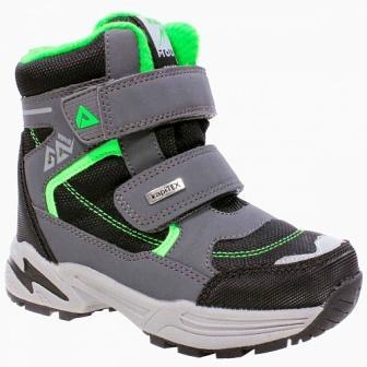 KAPIKA  Ботинки (черный-серый) р.28-32  42310-2 (поступление 09.10.2020г.) цена 3150руб.