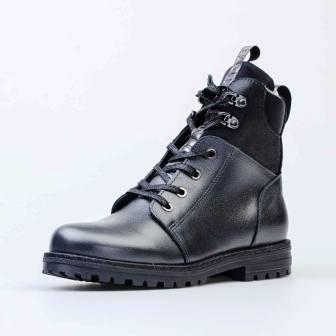 КОТОФЕЙ 652164-31 серый ботинки школьные Нат. кожа, 36-37,5 (поступление 05.03.2021г.) цена 3600руб.