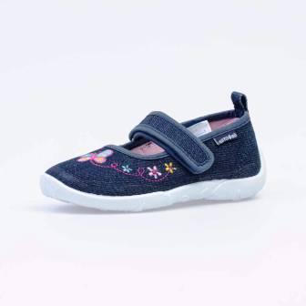 КОТОФЕЙ 431148-11 синий туфли дошкольные текстиль (поступление 07.05.2021г.) цена 990руб.