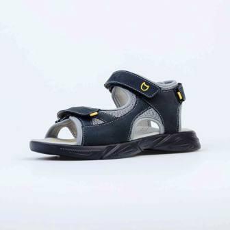 КОТОФЕЙ 724031-22 чер-сер туфли летние школьно-подростковые комбинирован., р.36-40 (поступление 24.05.2021г.) цена 2690руб.