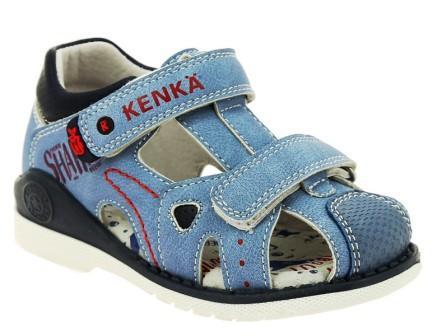 KENKÄ XHA_1031_blue туфли летние (поступление 07.05.2021г.) цена 1650руб.