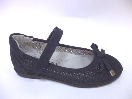 KEDDO  998332/09-02 т.синий детские (для девочек) туфли  (поступление 06.08.2019г.) цена  1400руб.