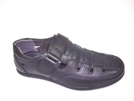 KEDDO  198662/34-01 черный подростковые (для мальчиков) туфли открытые (поступление 06.08.2019г.) цена 1800руб.