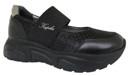 KAPIKA  Туфли (черный) 31-36  23603т-1 (поступление 21.07.2020г.) цена 3300руб.