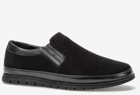 Tesoro 108692/12-01 черный иск.кожа детские (для мальчиков) туфли (поступление 14.08.2020г.) цена 1950руб.