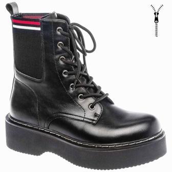 BETSY  908370/01-01 черный иск.кожа детские (для девочек) ботинки  (поступление 31.08.2020г.) цена 3200руб.
