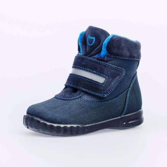 КОТОФЕЙ 354043-32 синий ботинки малодетско-дошкольные комбинирован., 25-29 (поступление 18.09.2020г.) цена 2850руб.