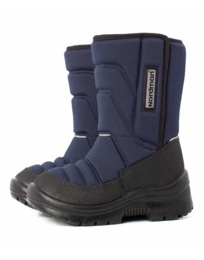 Nordman Lumi сапоги дошкольные, синие (27-31)  2-003-B04 синие  (поступление 02.10.2020г.) цена 3700руб.