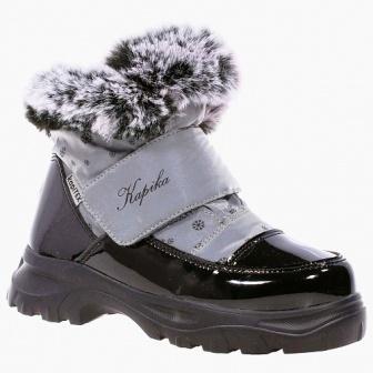 KAPIKA Ботинки  (черный-серый) 31-35  43410-2   (поступление 09.10.2020г.) цена 3200руб.
