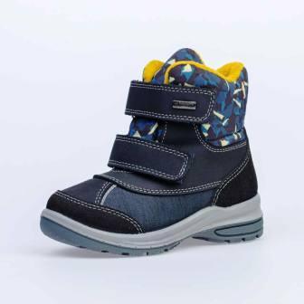 КОТОФЕЙ 454808-42 синий ботинки дошкольные комбинирован., 27-31  (поступление 14.11.2020г.) цена 3200руб.