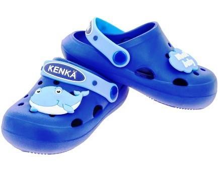KENKÄ DGB_3305-1_blue туфли летние (пляжные)  (поступление 15.02.2021г.) цена 580руб.