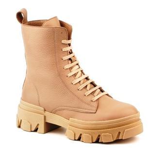 Shagovita 65249 Б Ботинки для девочки 21СМФ бежевый (32-37) (поступление 19.03.2021г.) цена 4200руб.