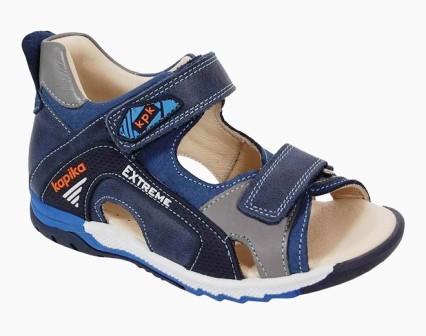 KAPIKA Туфли летние р.21-25  артикул 31484т (синий) (поступление 26.04.2021г.) цена 2990руб.