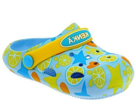 KENKÄ  DGB_3305-2_yellow туфли летние (пляжные) (поступление 29.04.2021г.) цена 650руб.