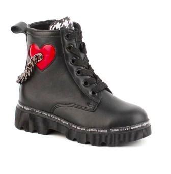 Shagovita Ботинки для девочки 21СМФ р.32-35 атикул 65275 Б черный (поступление 17.08.2021г.) цена 4600руб.