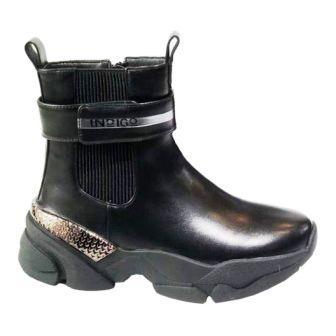 INDIGO KIDS 50-0027B/10 Ботинки детские (чёрный, р.33-38) (поступление 11.09.2021г.) цена 2900руб.