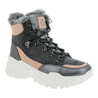 KENKÄ ЗИМА ADI_1810715_grey-pink ботинки (поступление 27.09.2021г.) цена 3200руб.
