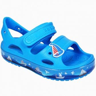 KAPIKA Туфли летние р.25-30  82193-1 (синий) (поступление 31.05.2021г.) цена 800руб.