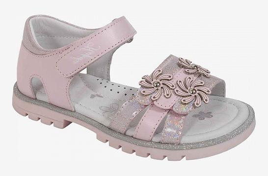 KAPIKA Туфли летние р.28-33  32674К-2 (розовый) (поступление 31.05.2021г.) цена 2990руб.