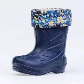 КОТОФЕЙ 265001-15 синий сапожки малодетские ЭВА  (поступление 26.03.2021г.) цена 1050руб.