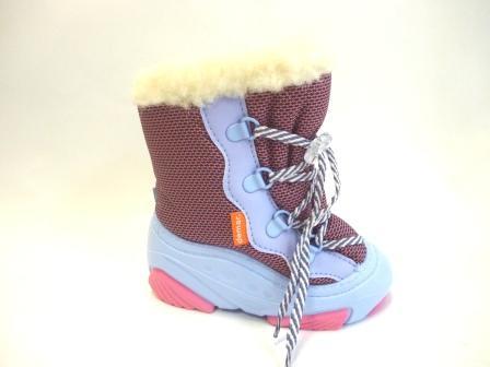 Дemar 4017 demar SNOW MAR a, цвет розовый, натуральная овчина, шнурки, разм.22-28 (поступление 27.09.2019г.)  цена  1900руб.