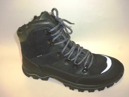 Лель Зима м 7-1163 Ботинки мальчиковые (черный)    (поступление 12.10.2019г.)  цена  5500руб.