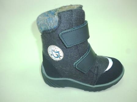 КОТОФЕЙ 357004-42 синий ботинки малодетско-дошкольные войлок, 25-29  (поступление 17.10.2019г.)  цена  2800руб.