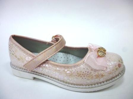 BI&KI  B-7157-F туфли НГ 23-32 р С.Розовый   (поступление 22.11.2019г.)  цена  1100руб.